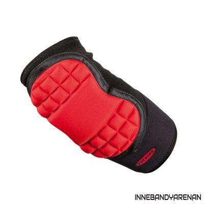 armbågsskydd fatpipe gk elbow pads black/red (bild)