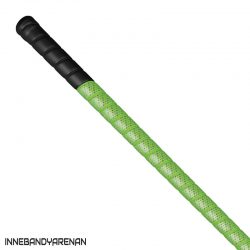 grepplinda fatpipe g-series grip black/neon green (bild)