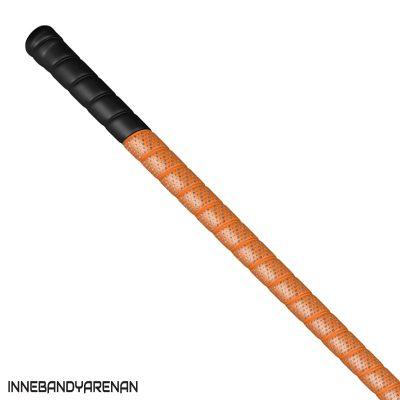 grepplinda fatpipe g-series grip black/neon orange (bild)
