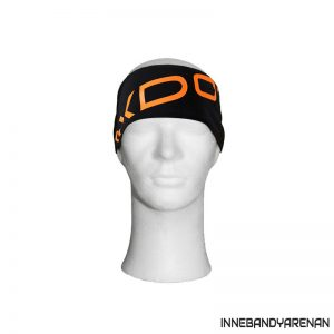 hårband oxdog shiny headband black/orange (bild)