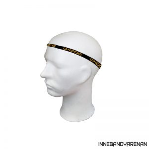 hårband oxdog slim hairband black/orange (bild)