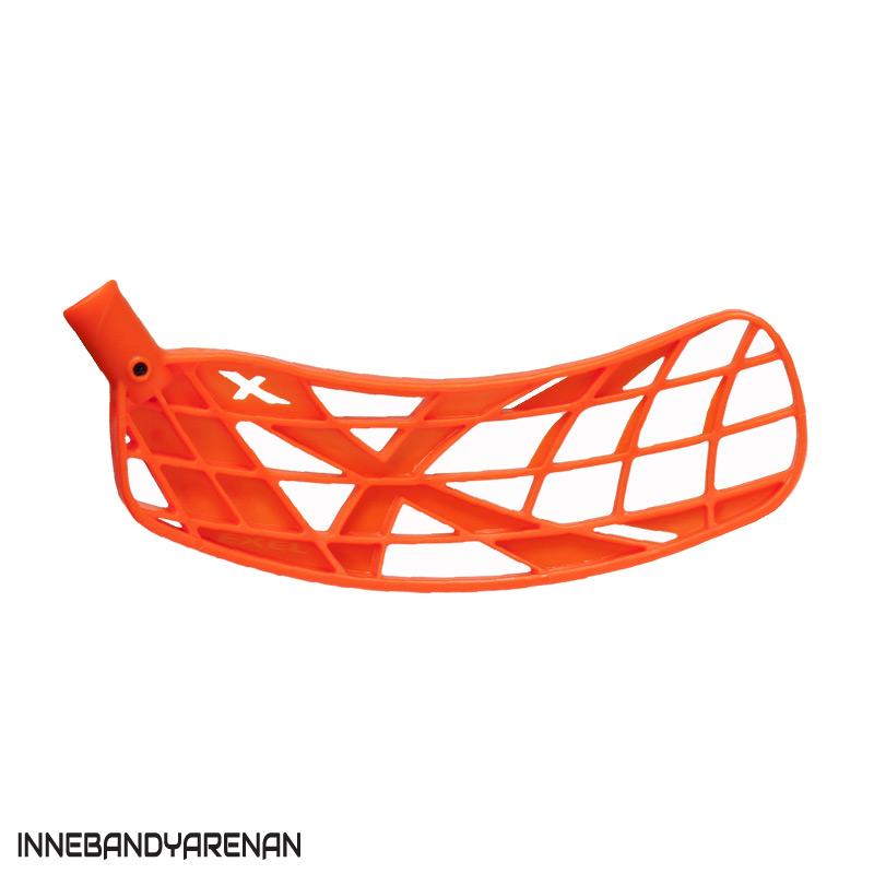 innebandyblad exel x-blade neon orange (bild)