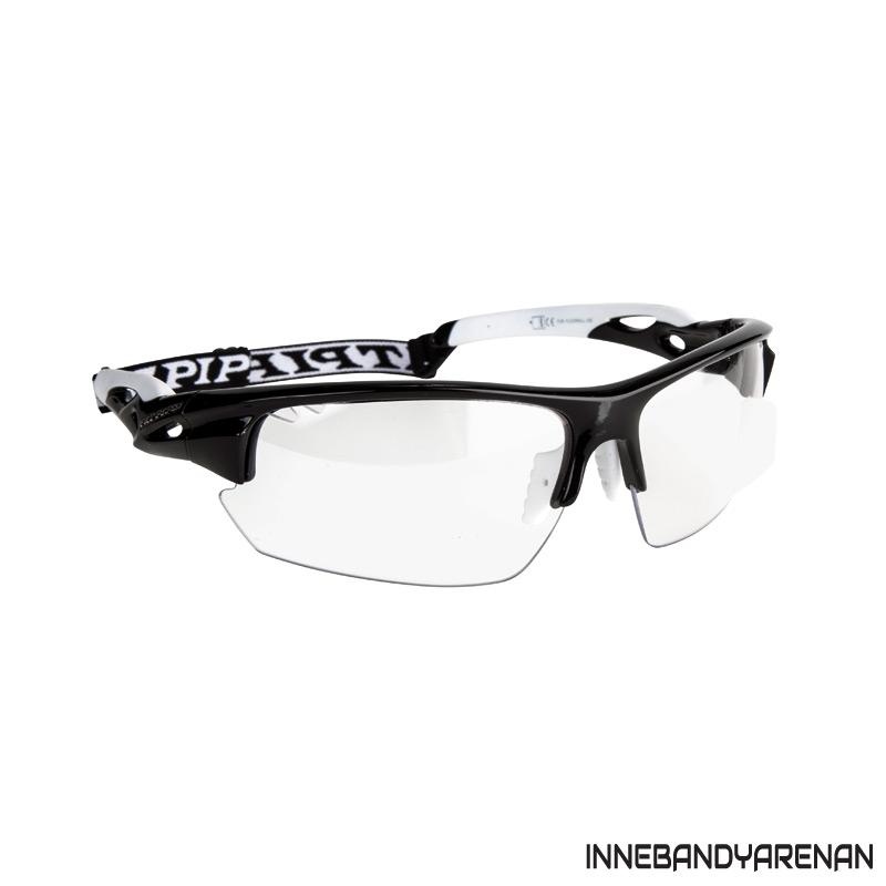 innebandyglasögon fatpipe protective eyewear sr black/white