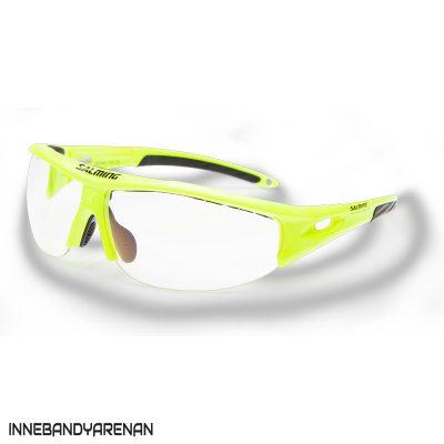 innebandyglasögon salming v1 protective eyewear sr saftey yellow (bild)