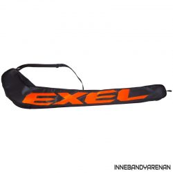 klubbfodral exel giant logo stickbag jr black/neon orange (bild)