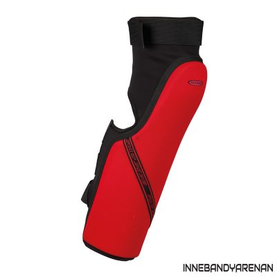 knäskydd fatpipe gk knee pads long black/red (bild)