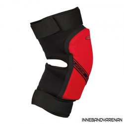 knäskydd fatpipe gk knee pads short black/red (bild)