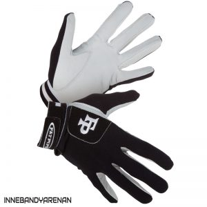 målvaktshandskar fatpipe gk gloves leather palm black (bild)