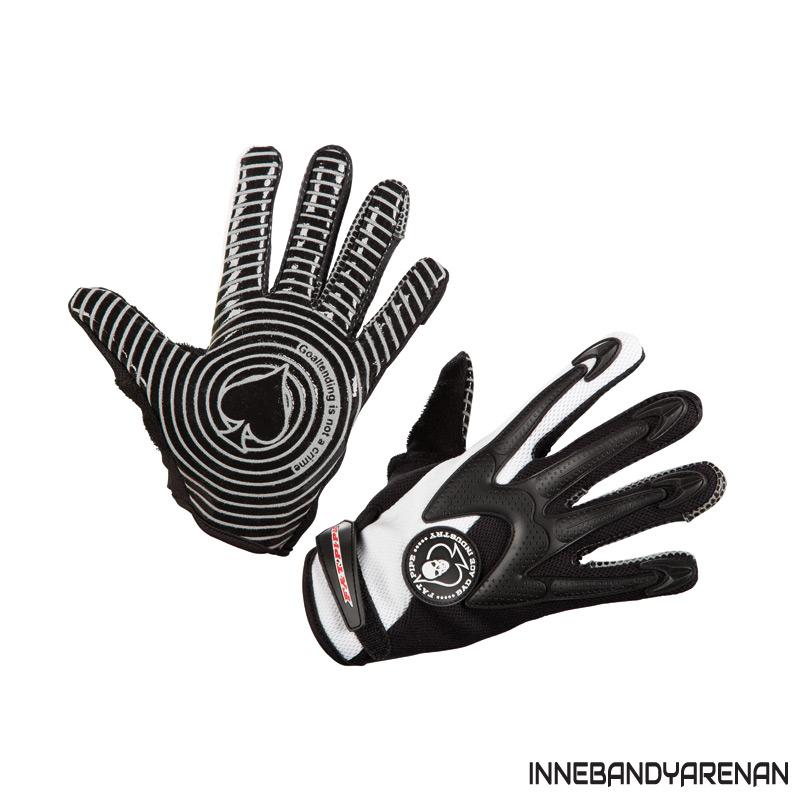 målvaktshandskar fatpipe gk gloves silicone white (bild)