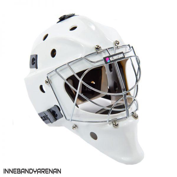 målvaktshjälm blindsave goalie mask white (bild 2)