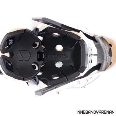 målvaktshjälm blindsave goalie mask white (bild 5)