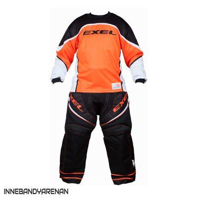 målvaktskläder exel s100 goalie black/orange (bild)