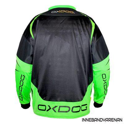 målvaktströja oxdog gate goalie shirt black/green (bild 2)