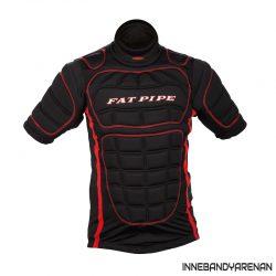 målvaktsväst fatpipe gk protective shirt black (bild)