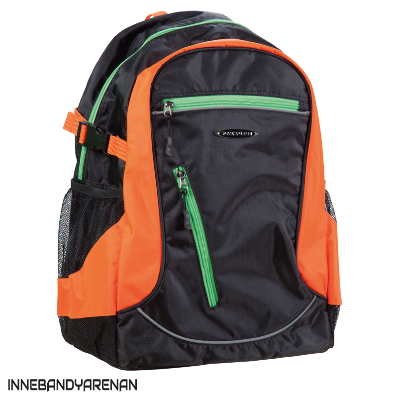 ryggsäck fatpipe barry back pack black/orange (bild)