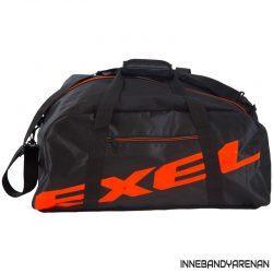 sportbag exel giant logo duffel bag black/neon orange (bild)