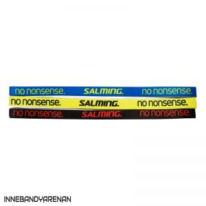 hårband salming hairband 3-pack blue/yellow/black (bild)