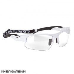 innebandyglasögon fatpipe protective eyewear sr white (bild)