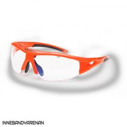 innebandyglasögon salming v1 protective eyewear kid orange (bild)