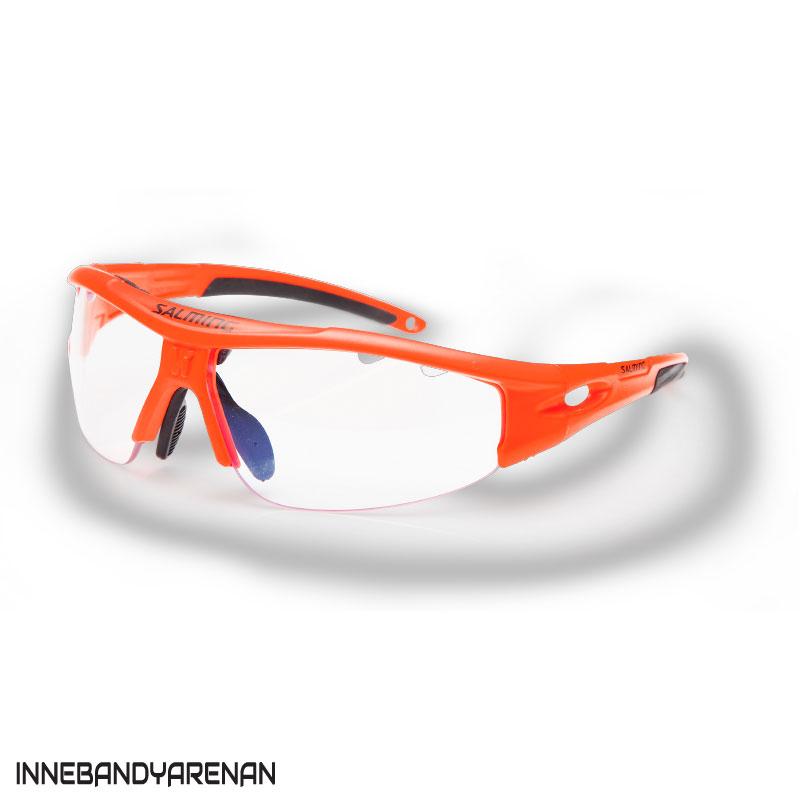 innebandyglasögon salming v1 protective eyewear kid orange (bild)