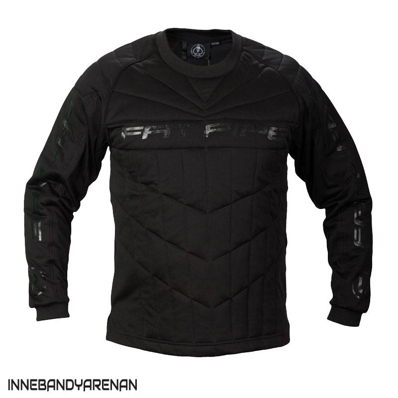 målvaktströja fatpipe gk-junior shirt black (bild)