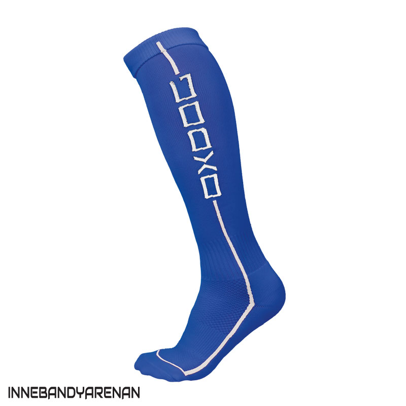 matchstrumpor oxdog fit socks royal blue (bild)