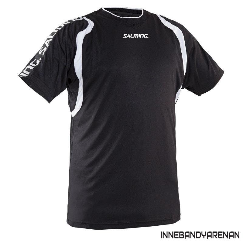 matchtröja salming rex jersey black/white (bild)