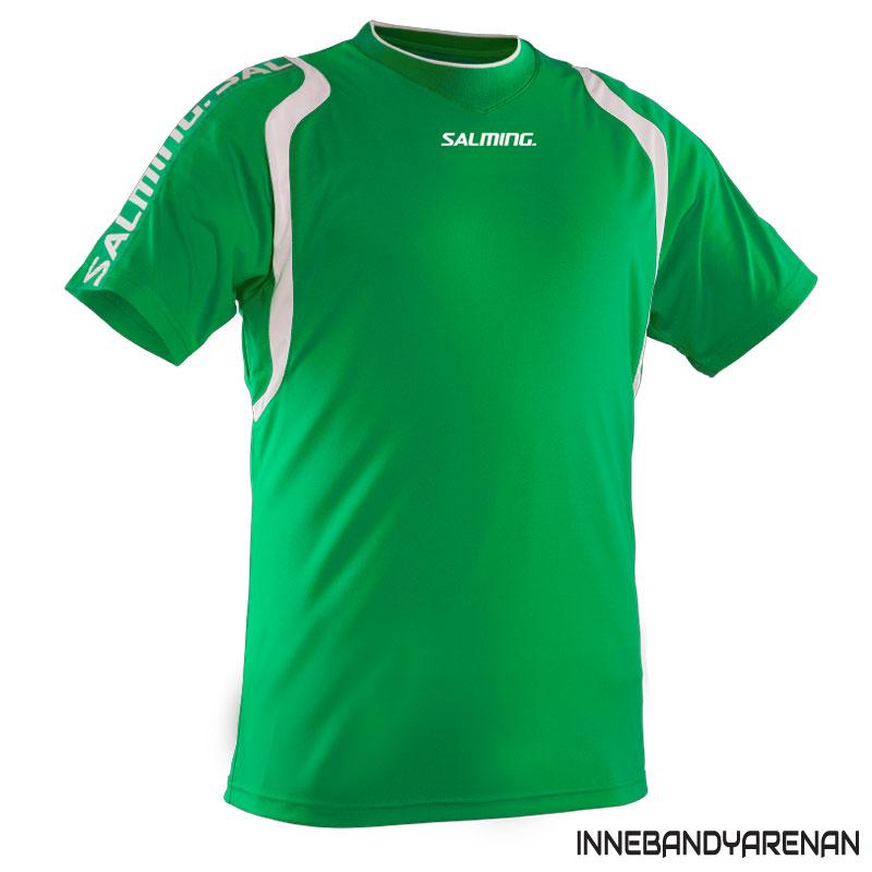 matchtröja salming rex jersey green/white (bild)