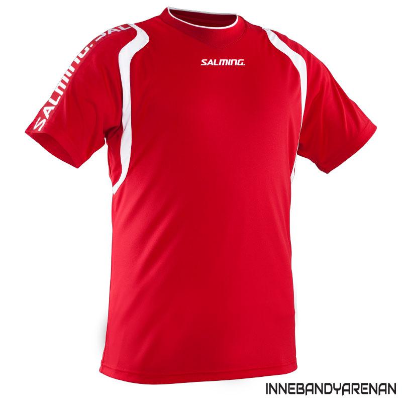 matchtröja salming rex jersey red/white (bild)