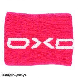 svettband oxdog twist short wristband pink (bild)