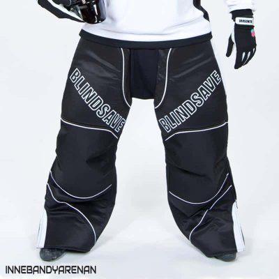 målvaktsbyxor blindsave goalie pants black (black)