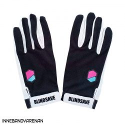 målvaktshandskar blindsave goalie gloves black (bild)