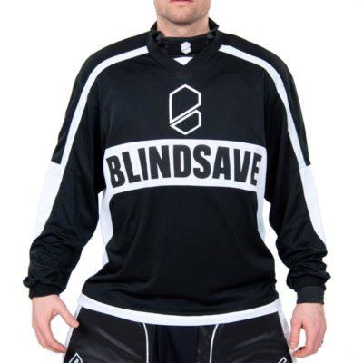 målvaktströja blindsave goalie jersey black (bild)
