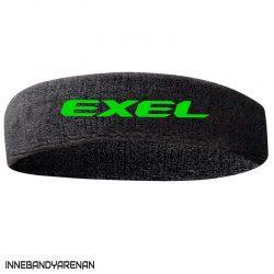pannband exel headband black/green (green)