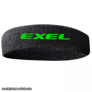 pannband exel headband black/green (green)