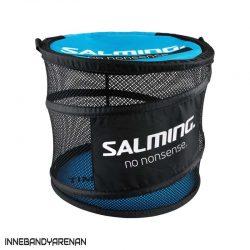 bollväska salming floorball bag/barrel cyan/black (bild)