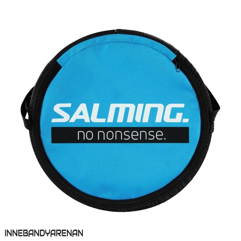bollväska salming floorball bag/barrel cyan/black (bild 2)