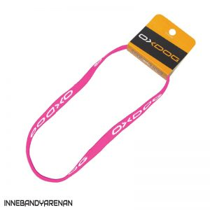 hårband oxdog slim hairband pink (bild)