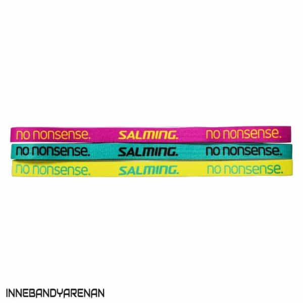 hårband salming hairband 3-pack pink/green/yellow (bild)