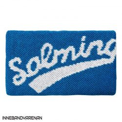 svettband salming wristband long blue (bild)