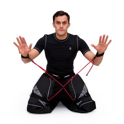 träningsutrustning innebandymålvakt