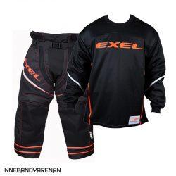 målvaktskläder exel s100 goalie black (bild)
