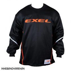 målvaktströja exel s100 goalie jersey black (bild)
