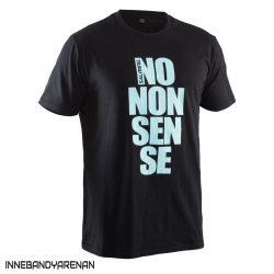 t-shirt salming no nonsense tee black