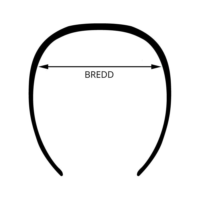 bredd på innebandyglasögon