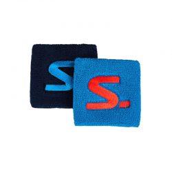 Svettband Salming Wristband Short 2-pack Blue/Navy