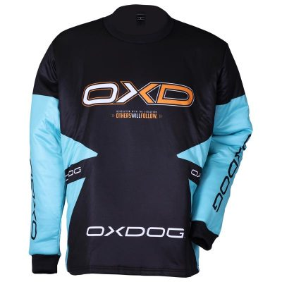 Oxdog Vapor Goalie Shirt Tiffany Blue/Black