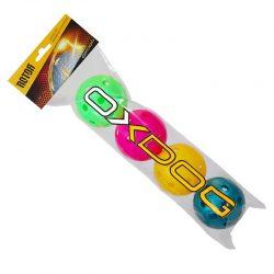 Innebandyboll Oxdog Rotor Color 4-pack
