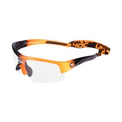 Innebandyglasögon Unihoc Eyewear Victory Kids Neon Orange/Black