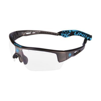 Innebandyglasögon Unihoc Eyewear Victory SR Gunmetal/Blue